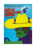 SMOKEY AND THE BANDIT, (aka MISTRZ KIEROWNICY UCIEKA), Polish poster, 1977 Art