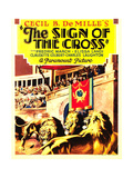 THE SIGN OF THE CROSS, midget window card, 1932. Prints