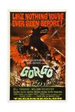 GORGO, classic dinosaur poster art, 1961 Print