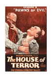 THE HOUSE OF TERROR, right: Pat O'Brien in 'Episode 9-Pawns of Evil', 1928 Prints