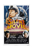 SILENT MOVIE, US poster, Mel Brooks, Marty Feldman, Dom Deluise, 1976 Posters