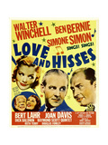 LOVE AND HISSES Posters