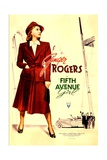 FIFTH AVENUE GIRL (aka 5TH AVE GIRL), Ginger Rogers, 1939. Prints