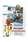 Thunderball, (aka Operacion Trueno), Spanish language poster, Sean Connery, 1965 Prints