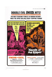 TWINS OF EVIL, HANDS OF THE RIPPER, US poster, 1971 Posters