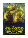 SPARROWS, left to right: Mary Pickford, Mary Louise Miller, 1926. Plakater