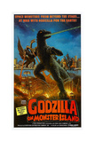 GODZILLA ON MONSTER ISLAND (aka GODZILLA VS. GIGAN Poster