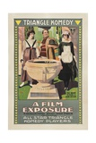 A FILM EXPOSURE, poster art, 1917. Posters