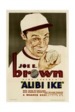 ALIBI IKE, Joe E. Brown, 1935. Posters