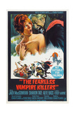 THE FEARLESS VAMPIRE KILLERS, Australian poster, from left: Sharon Tate, Ferdy Mayne, 1967 Posters