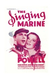 THE SINGING MARINE, from left: Dick Powell, Doris Weston, 1937 Prints
