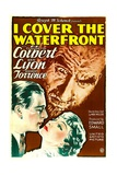 I COVER THE WATERFRONT, from left: Ben Lyon, Ernest Torrence, Claudette Colbert, 1933. Posters