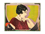 THE IMPOSSIBLE MRS. BELLEW, Gloria Swanson on lobbycard, 1922 Prints