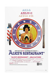 ALICE'S RESTAURANT, US poster, Arlo Guthrie, 1969 Posters