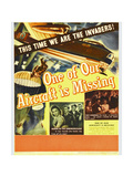 ONE OF OUR AIRCRAFT IS MISSING, window card, 1942. Prints