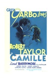 CAMILLE, from left: Robert Taylor, Greta Garbo, 1936 Posters