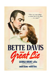 THE GREAT LIE, George Brent, Bette Davis, 1941 Prints