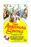 ARKANSAS SWING, US poster, Douglas Fowley, Gloria Henry (middle with horse), 1948 Posters