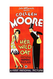 HER WILD OAT, 3-sheet poster, 1927, flirtation Prints