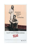 GETTING STRAIGHT, US poster, from left: Candice Bergen, Elliott Gould, 1970 Posters
