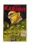 MR. WONG, DETECTIVE, Evelyn Brent, Boris Karloff, 1938 Posters