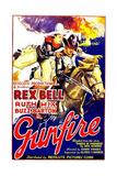 GUNFIRE, left: Rex Bell, 1935. Print