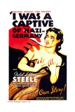 I WAS A CAPTIVE OF NAZI GERMANY, Isobel Lillian Steele, 1936 Posters