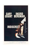 INDISCREET, from left: Cary Grant, Ingrid Bergman, 1958 Print