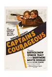 CAPTAINS COURAGEOUS, from left: Freddie Bartholomew, Spencer Tracy, 1937. Art