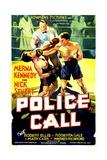POLICE CALL, 1933. Prints