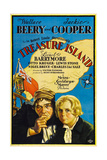 TREASURE ISLAND, from left: Wallace Beery, Jackie Cooper, 1934. Print
