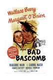 BAD BASCOMB, US poster, from left: Margaret O'Brien, Wallace Beery, 1946 Poster