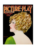 Anna Q. Nilsson, on the cover of Picture-Play magazine, September 1924 Posters
