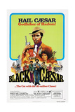 BLACK CAESAR, US poster, Fred  Williamson (center), 1973. Print