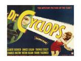 DR. CYCLOPS, Albert Dekker, Janice Logan, 1940 Prints