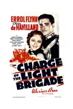 THE CHARGE OF THE LIGHT BRIGADE, from left: Olivia De Havilland, Errol Flynn, 1936 Prints