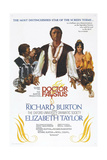 DOCTOR FAUSTUS, US poster, Richard Burton (center), Elizabeth Taylor (right), 1967 Prints