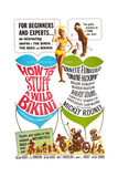 HOW TO STUFF A WILD BIKINI, top center: Mary Hughes; Mickey Rooney (upper right), 1965. Poster