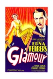 GLAMOUR, center: Constance Cummings, right: Paul Lukas, 1934 Posters