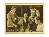 THE WONDER MAN, center: Georges Carpentier on lobbycard, 1920. Prints
