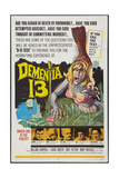 DEMENTIA 13, William  Campbell, Luana Anders, Patrick Magee, Bart Patton, Eithne Dunne, 1963 Poster