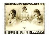 PEGGY, Billie Burke on poster art, 1916 Poster