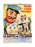 LES GAITIES DE L'ESCADRON (aka FUN IN BARRACKS) Posters