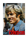 THREE DAYS OF THE CONDOR, Japanese poster, Robert Redford, 1975 Art