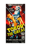 TOBOR THE GREAT, poster art, 1954. Posters