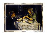POLLYANNA, right: Mary Pickford on lobbycard, 1920. Posters