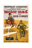 MOTOR MAD, from left: Lige Conley, Jack Lloyd, 1924. Prints