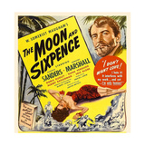 THE MOON AND SIXPENCE, from left: Elena Verdugo, George Sanders on window card, 1942. Prints