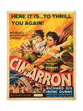 Cimarron, Irene Dunne, Richard Dix, 1931 Prints