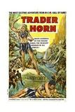 TRADER HORN, poster art, 1931. Prints